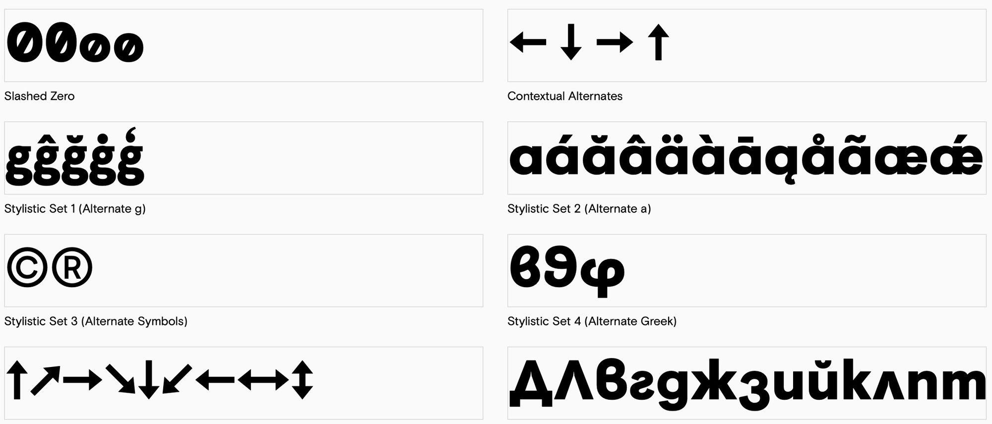 Visuelt pro кириллический шрифт скачать