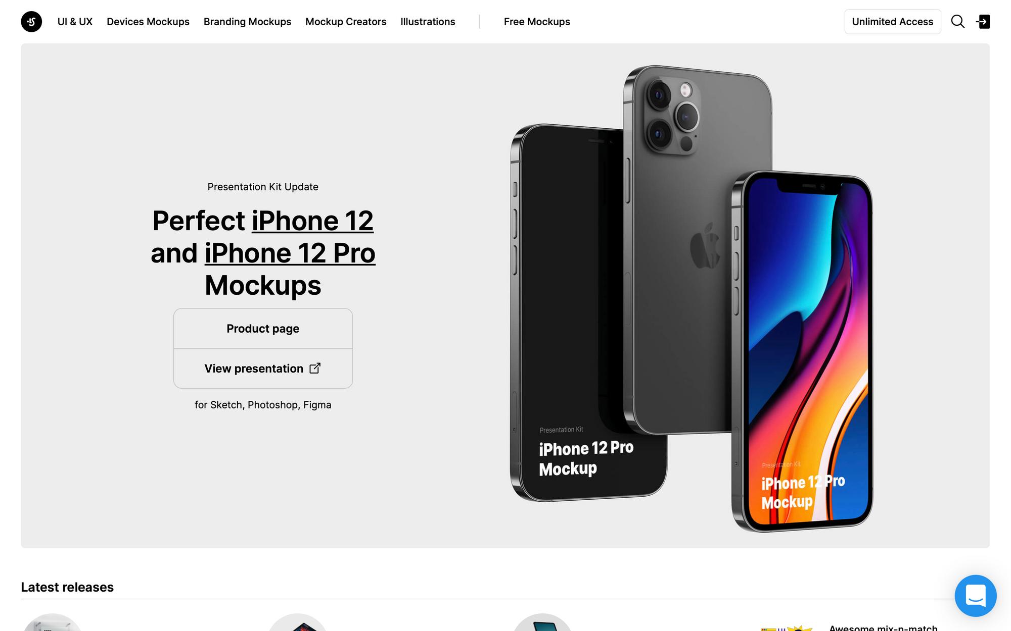 Скачать бесплатные мокапы iPhone, iPad, iMac, MacBook для Figma, Sketch, Photoshop