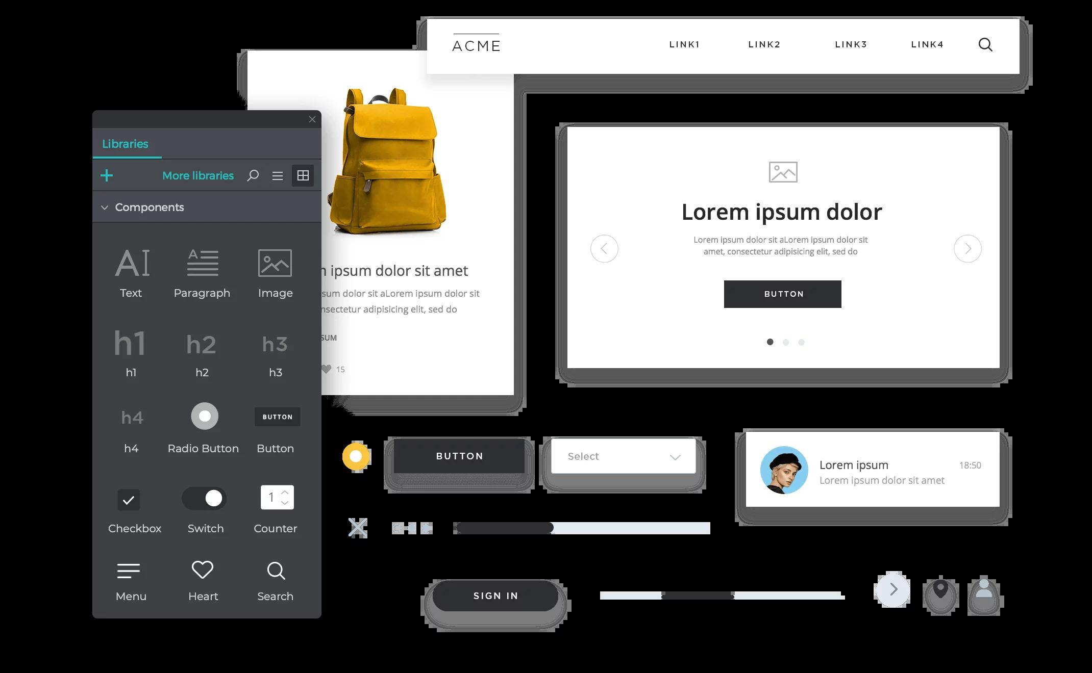 Приложения для создания прототипов сайта бесплатно
